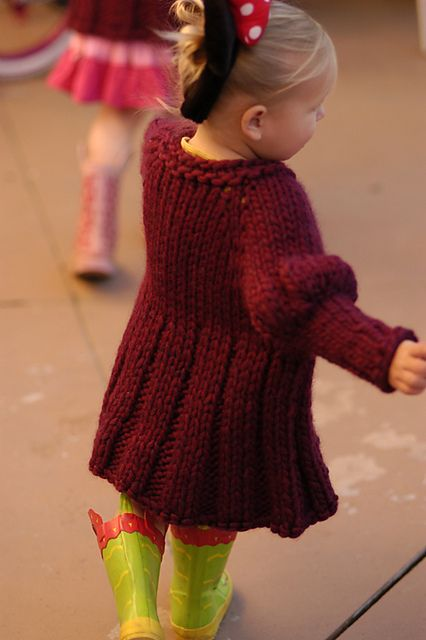 Ravelry: the Girls Jacket pattern by Karen Clements