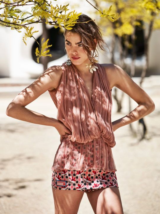 Hair Stylist Kacper Rączkowski, Elle France, Editorial with Bambi Northwood Blyth   Picture That
