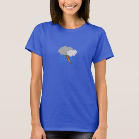 Thunderstorm Carrot T-Shirt - click/tap to personalize and buy