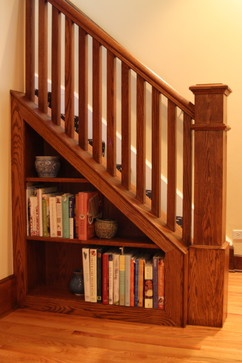 This is closer to the amount of space we actually have right under the stairs.