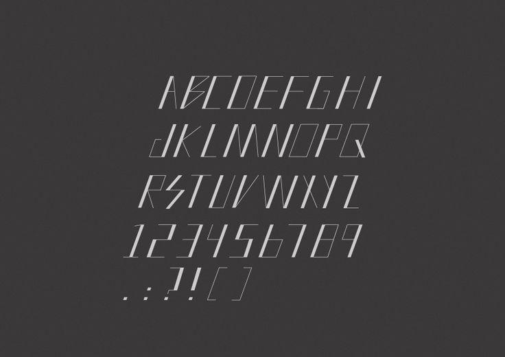 Font design for school.