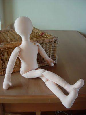 Bambolando: Учебник и Кукла шаблон: 1 ШАГ