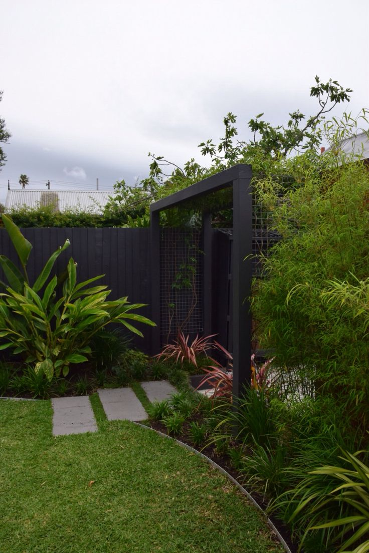 14 months in bali inspired garden botanical space for Landscape construction melbourne