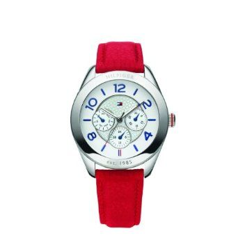 Tommy Hilfiger Women's Quartz Watch 1781203 with Leather Strap