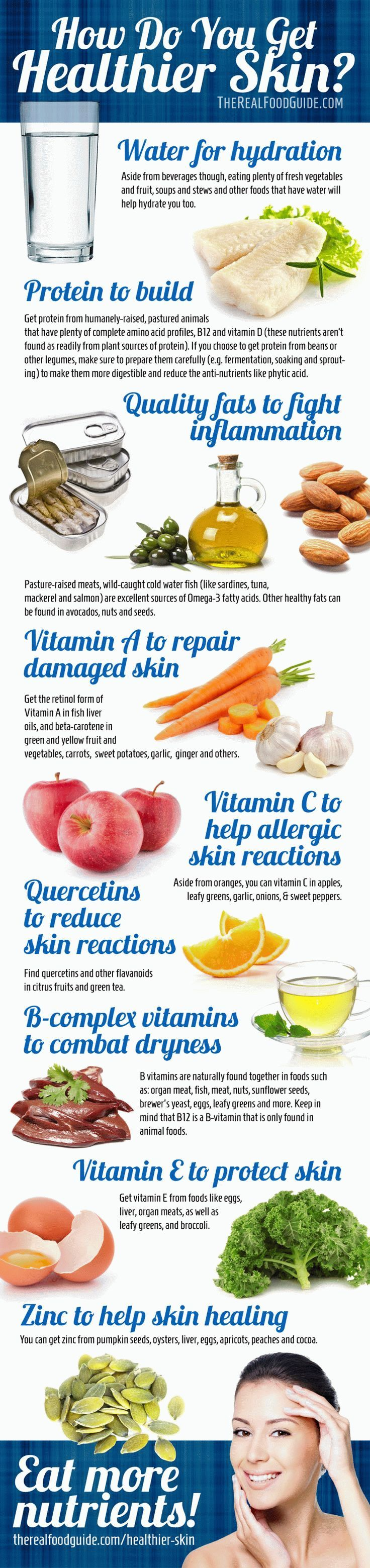 How to get clear skin- vitamins for healthy skin