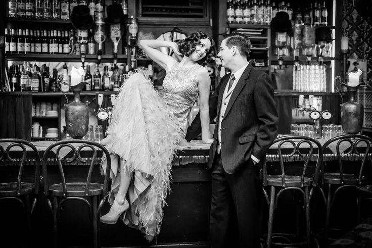 Bruidsfotograaf Amsterdam | Great Gatsby thema bruiloft