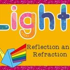 This PowerPoint includes 10 slides about reflection and refraction.  Definitions, diagrams, and examples are included.  Convex and concave lenses a...