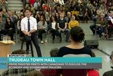 Prime Minister Holds a Town Hall in Edmonton