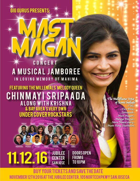 Mast Magan... a musical jamboree! with Chinmayi Sripada