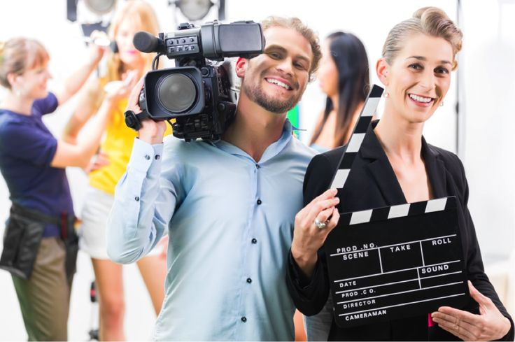 With television a central part of Canadian home life, plenty of us grow up dreaming of working in TV. It's an exciting world with great job opportunities both on and off-screen—from writing scripts to filming newscasts to sitting in the director's seat.