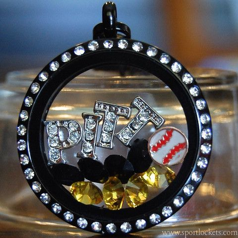 Pittsburgh Pirates baseball locket necklace – SportLockets.com