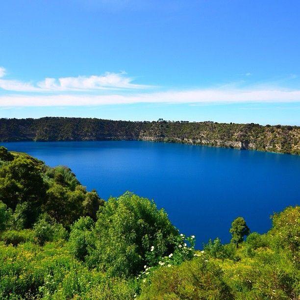 Blue Lake near Mt. Gambier in South #Australia