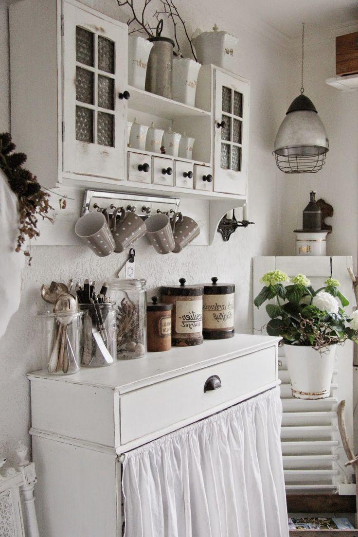 Country Style Kitchen Modern Meets Romance And Tradition In 2020 Ozdabianie Pomysly Do Dekoracji Domu Dekoracje Shabby Chic