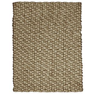 Bodhi Chunky Wool and Jute Handwoven Rug (8' x 10') - Overstock™ Shopping - Great Deals on 7x9 - 10x14 Rugs
