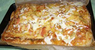 W Mojej Kuchni Lubię.. : smaczna pizza...