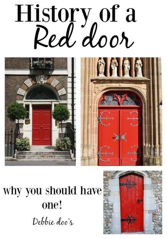 Interesting history and tales of the red door. Bet you never knew. You may even have a red door yourself. #sponsored