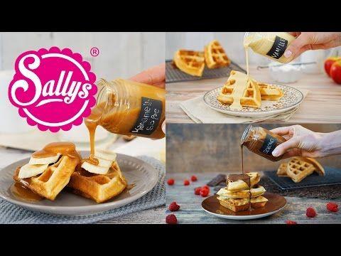Karamellsoße für Desserts - Sallys Blog