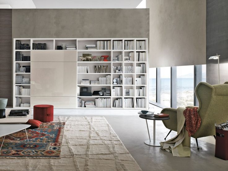 23 best soggiorni tomasella images on pinterest | bookcases ... - Soggiorno Moderno Tomasella 2