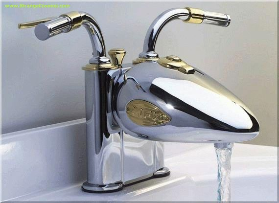 Harley Faucet... do not show my dad this.. he will have one at every sink!