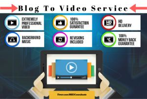 If you're looking to revive your archived website blog posts and get more traffic to your business why not consider turning your articles or blog posts into Videos? Take a look at the below v…