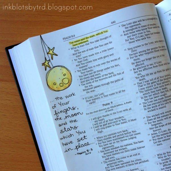 Ink Blots by TRD: Bible Journaling