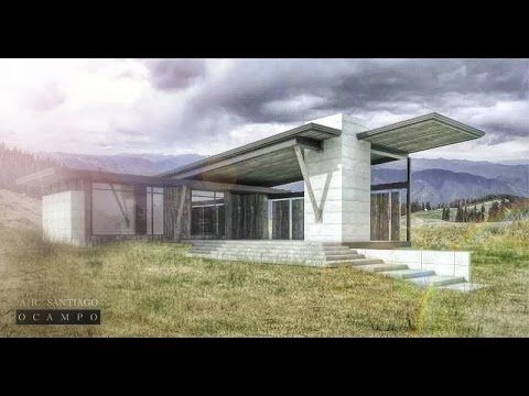 ARCHITECTURAL: Post Production using photoshop - YouTube