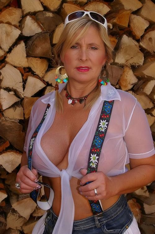 German Mature Blonde 77