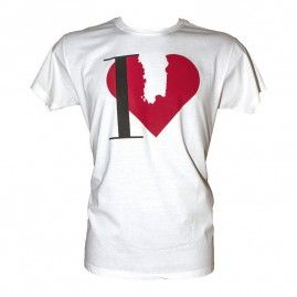 T-shirt inLove Uomo bianco