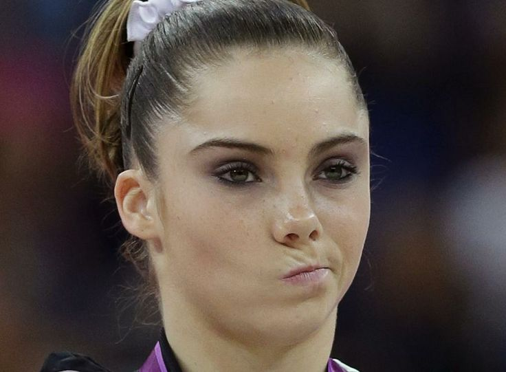 McKayla Maroney who could ever forget this picture at the London Olympic Games Attempting to try to make the 2016 team where competition is FIERCE with Elizabeth Price and Simone Biles the apparent front runners