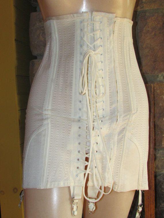 Vintage Late 1920s OBG Full Corset Girdle Elee's ...