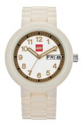 LEGO® Classic Adult Watch (White/Gold)