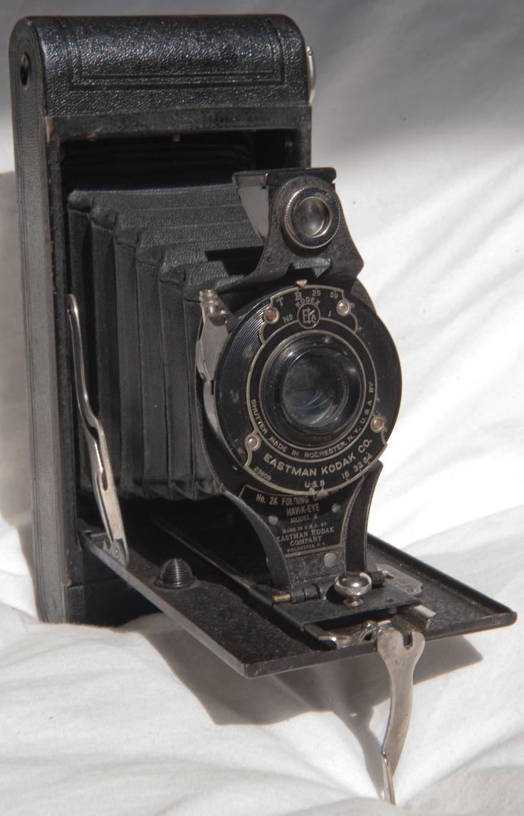 1926-1934 No 2A Folding Cartridge Hawk-Eye model B