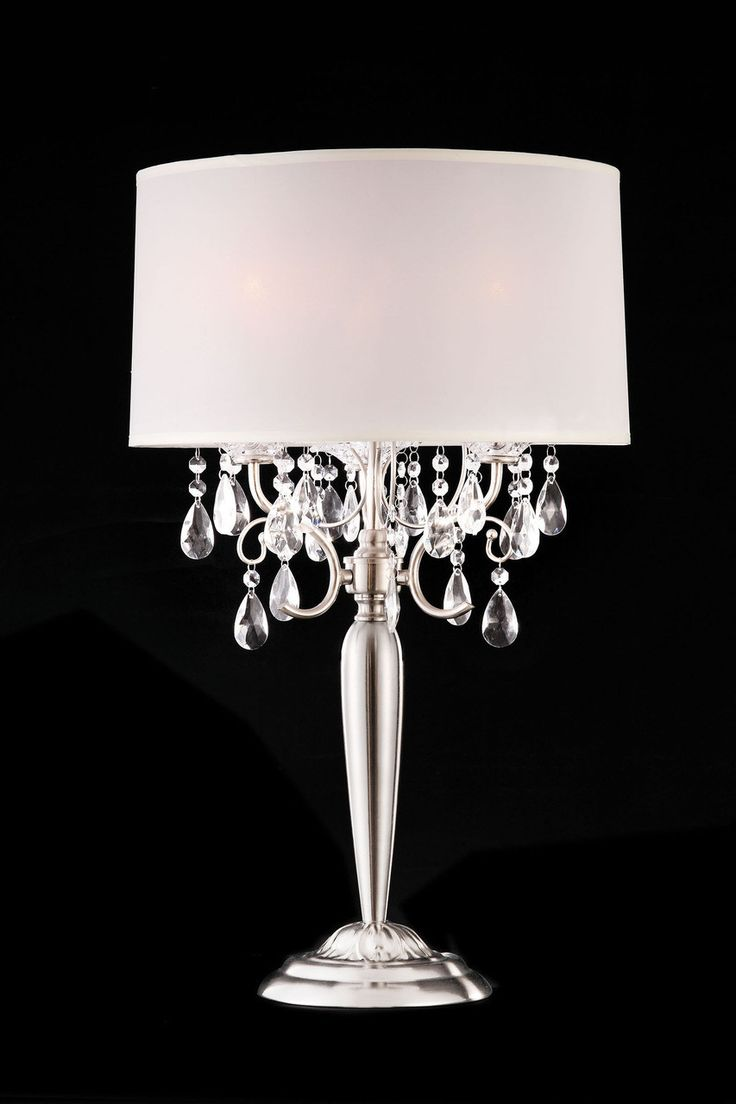 Hanging crystal table lamp - L95109t Table Lamp
