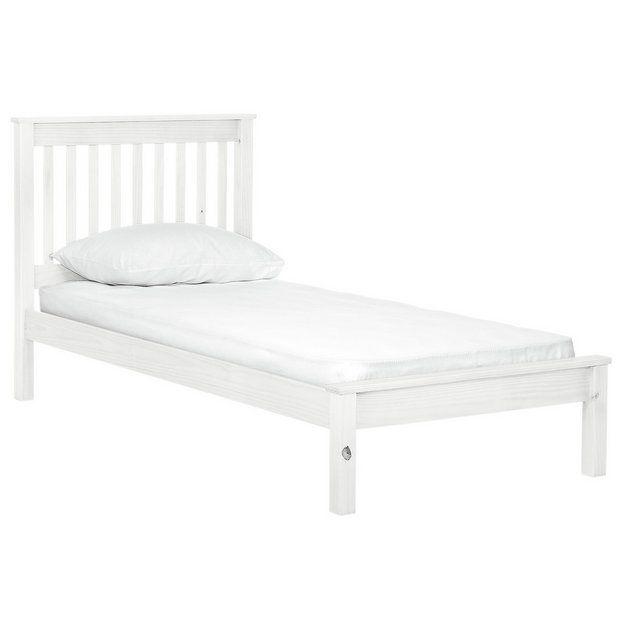 Best 25 White Single Bed Frame Ideas On Pinterest Teen