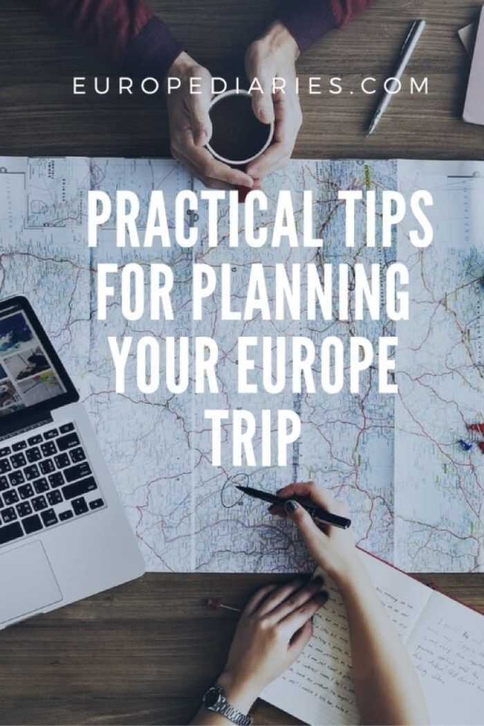 7 Practical Tips for planning your first Europe trip- Guide by europediaries.com #traveltips #europetrip #solotravel #planner #tripplanner