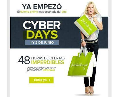 Cyber Days de Falabella: Ofertas 1 y 2 junio 2015