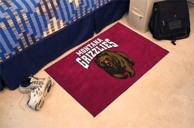 Montana Grizzlies Starter Rug/Carpet Welcome/Door Mat
