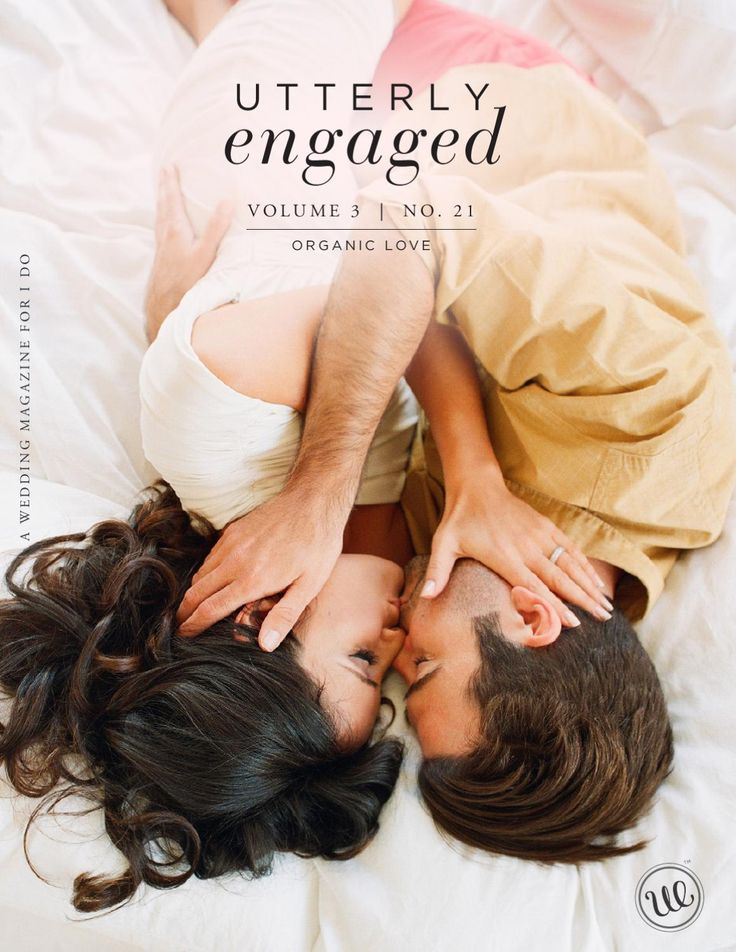 Utterly Engaged :: Issue No. 21 :: Organic Love  April is Earth month, and we dedicate Issue No. 21 to honor and celebrate the gifts of nature in our wedding celebrations as well as our lives. From small details like feathers, sticks and stones, to a full-scale sustainable wedding using centuries-old, natural materials like corn husk and palm fronds, this issue is filled with nature-loving ideas that will inspire you to be more creative and resourceful in planning an eco-conscious wedding…