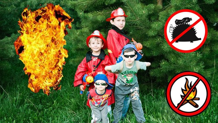 Little heroes(firefighters) rush to the rescue |Playground  Fun for Kids...