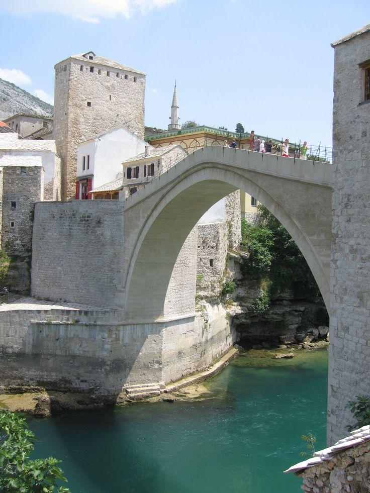 New Bridge,Mostar,Bosnia-Herzegovína