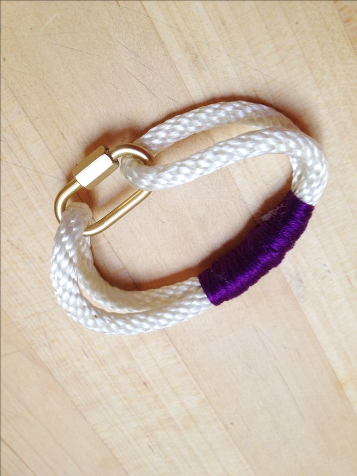 EASY DIY Rope Bracelet - Supplies from the Hardware Store!