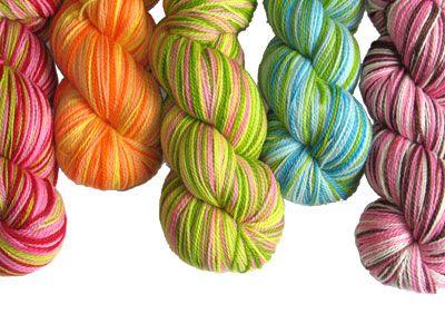 This yarn looks like candy.