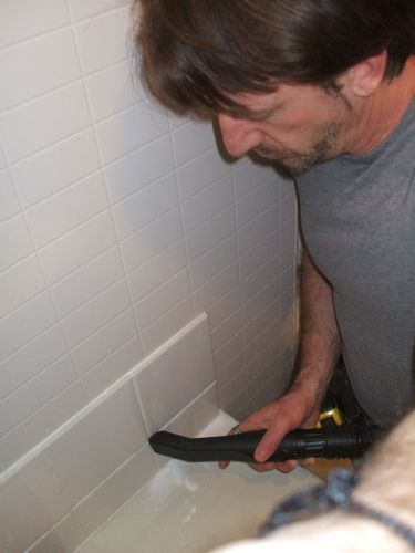 Removing Tile Grout Is Easy. Here's How.: Remove Tile Grout: Vacuum During and After
