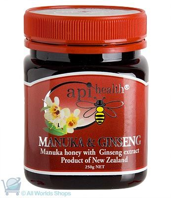 Ginseng Extract & Manuka Honey - 250gm | Shop New Zealand