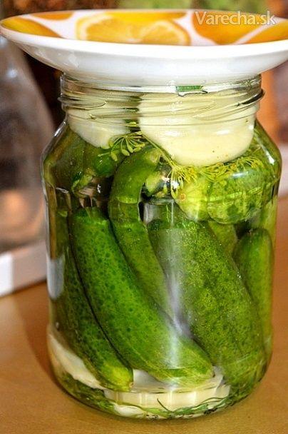 Uhorky kvasené so zemiakom (fotorecept) - Recept