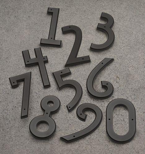 Mission House Numbers | Rejuvenation #TakeItOutside
