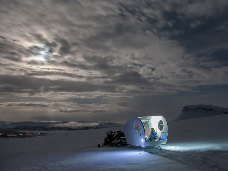 Sleep Under the Northern Lights in a Finnish 'Bubble Sled' - Condé Nast Traveler