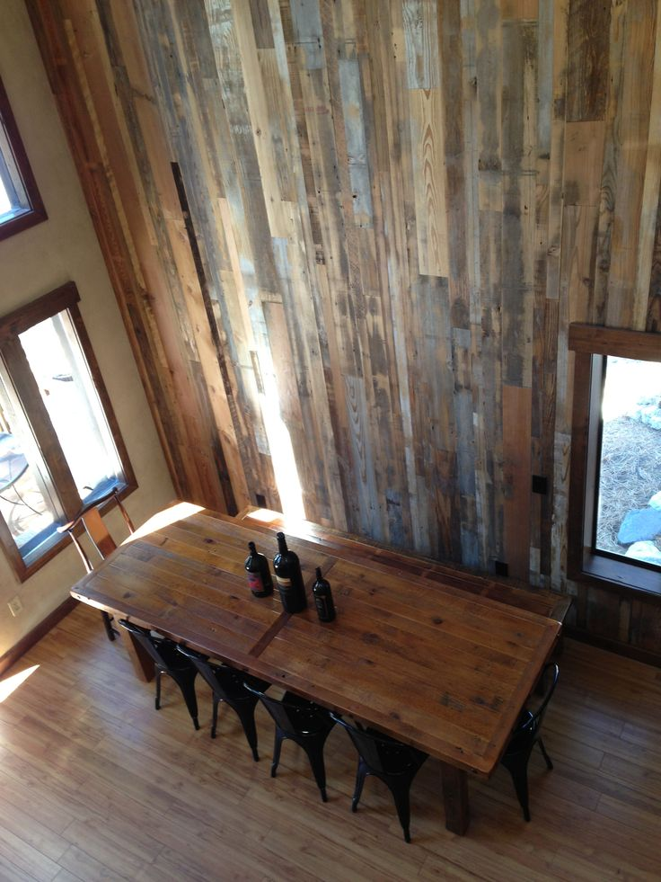 Barnwood Table Barnwood Wall Houses Rustic Wood