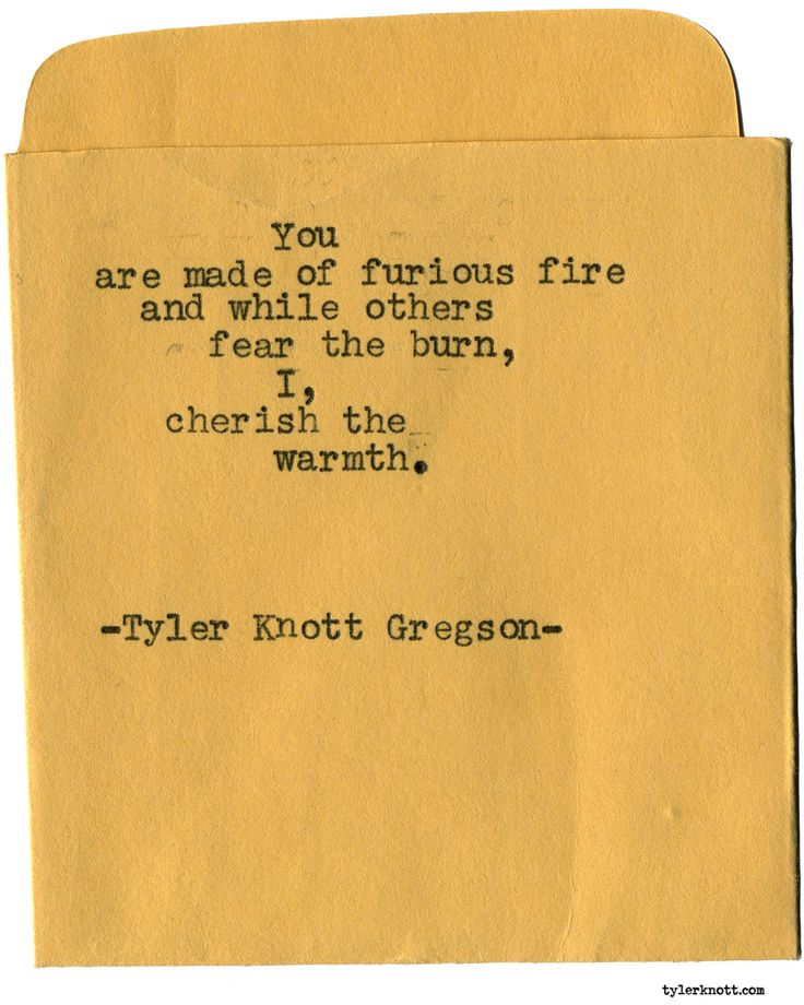 Typewriter Series #1929 by Tyler Knott Gregson Check out my Chasers of the Light Shop! chasersofthelight.com/shop