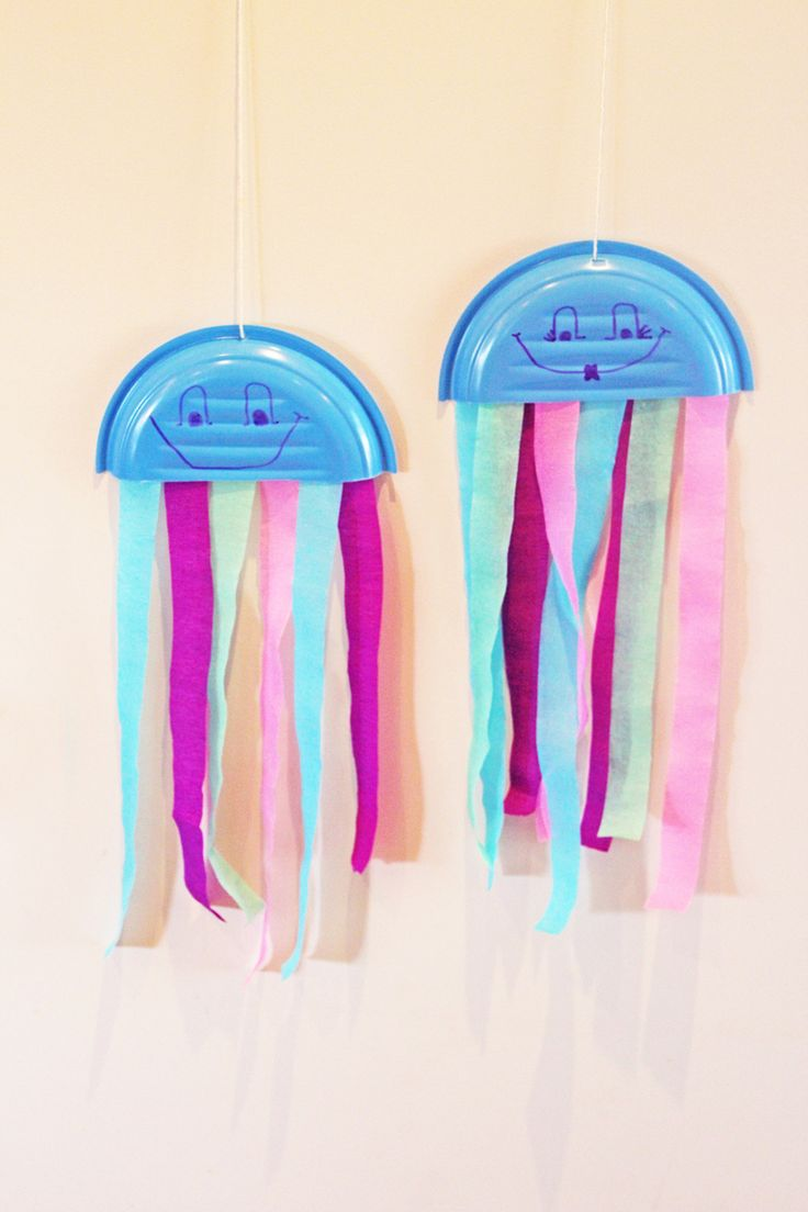 17 best ideas about paper plate jellyfish on pinterest for Fun things to craft